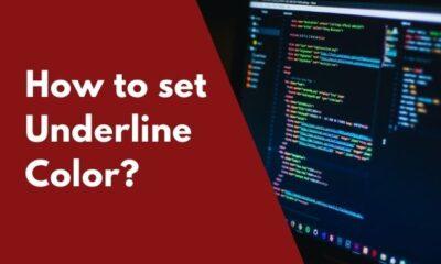 CSS Set underline color