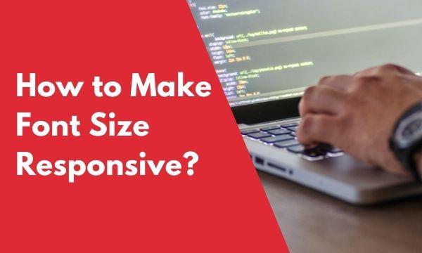 CSS font size responsive